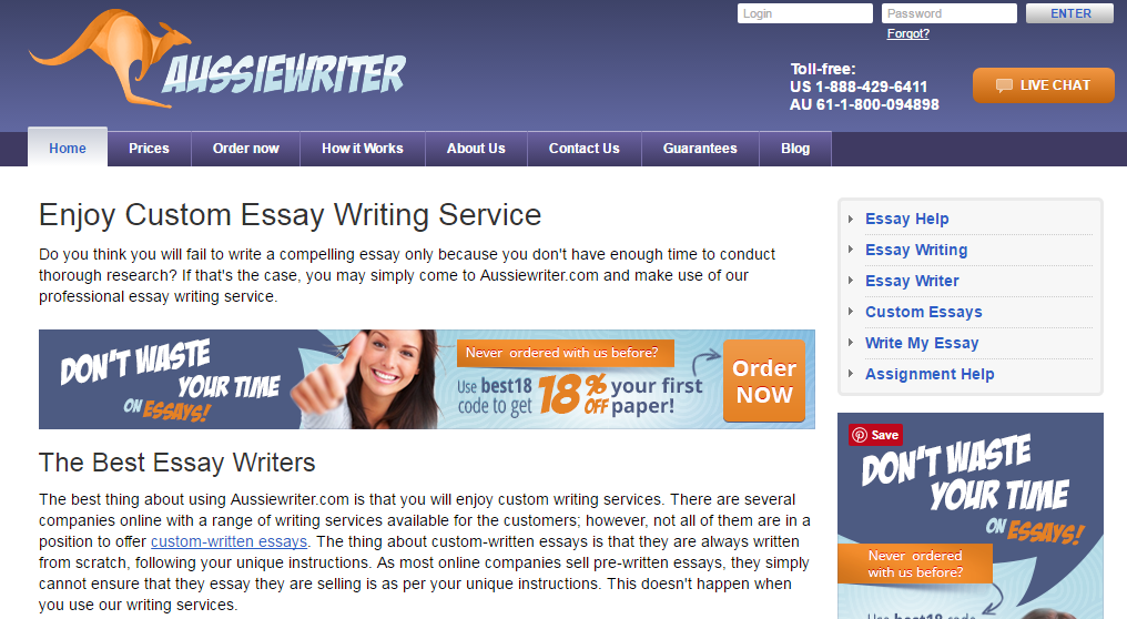 Custom essay writer